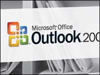 Box shot of Microsoft Outlook, Microsoft