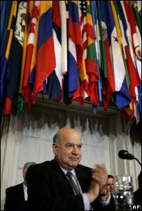 Jose Miguel Insulza, Secretario general de la OEA