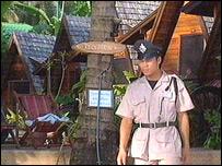 Police on Koh Samui