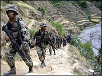 Soldiers in Nepal