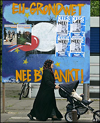 Election poster in Amsterdam