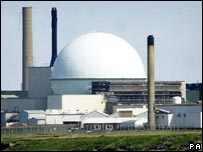 Dounreay nuclear power station in Scotland