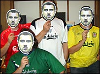 The Trophy Boyz with Dudek masks