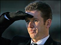 Inverness caretaker manager Charlie Christie