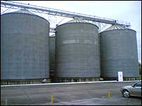 Wessex Grain's processing plant in Henstridge