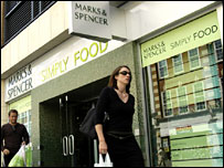 M&S Simply Food store