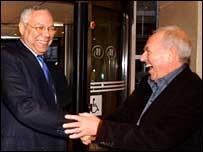 Colin Powell and Stanley Lovatt