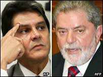 Roberto Jefferson and Lula da Silva
