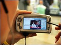 O2's mobile TV service