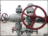 Gas pipe valves