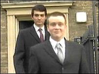 James Cole (back) and David Jordan (front)