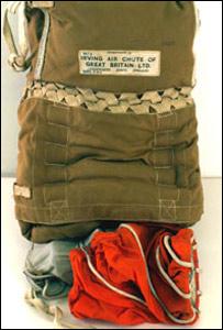 Donald Campbell parachute