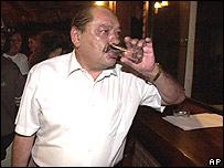 Senador Hormando Vaca Diez, presidente del Congreso de Bolivia