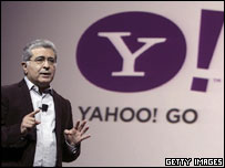 Yahoo chief executive Terry Semel