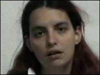 Video grab of Jill Carroll's appeal on al-Jazeera