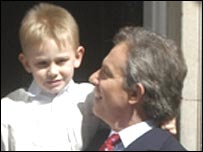 Leo and Tony Blair