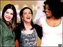 Oprah Winfrey with Priscilla and Lisa Marie Presley
