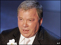 William Shatner at the Emmy awards in 2005