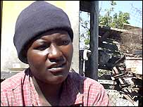 Lavender Nyika, whose daughter Charmaine died
