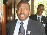 Education Minister Jacob Nkate