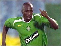 Celtic defender Mo Camara