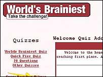 World's Brainiest website