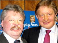 Simon Weston and James Partridge