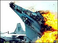 Ukraine airshow crash