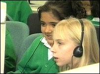 Pupils at Woodland Grange Primary