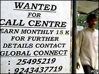 Call Centre advert