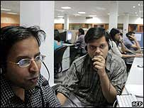 A call centre in India