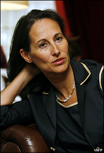 French Socialist politician Segolene Royal