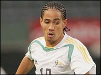South Africa and Ajax's Steven Pienaar