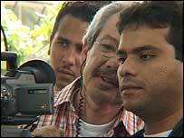 Telesur news director Jorge Botero