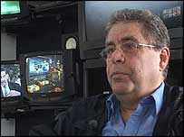 Alberto Ravell, head of Venezuela's main private news channel Globovision