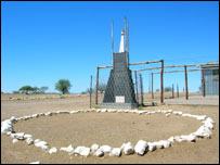 Herero Monument, Okahandja
