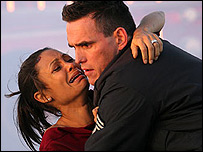 Thandie Newton and Matt Dillon