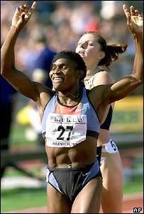 Maria de Lourdes Mutola, Mozambican athlete