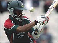 Ashraful was caught off a no ball on eight