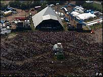 Glastonbury Pyramid Stage 2005