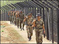 Indian security in Tripura