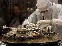 Stardust capsule, AP