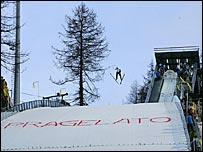Pragelato will host ski jumping and cross-country skiing