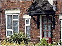 The house where the girl was found