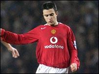 Manchester United's Giuseppe Rossi