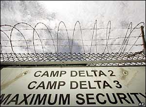 Camp Delta entrance