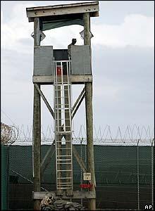 Camp Delta watchtower
