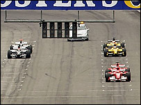 Only six cars take the start of the US Grand Prix after teams using Michelin tyres refused to race