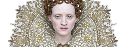 Anne Marie Duff as The Virgin Queen