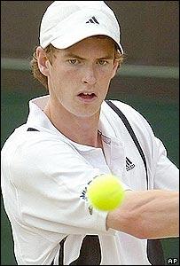 Andy Murray, el nuevo �dolo del tenis brit�nico.